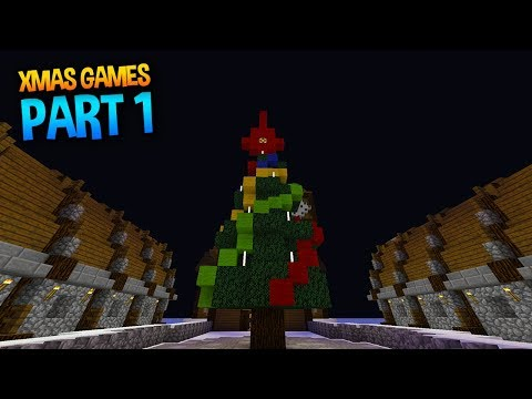 CHRISTMAS GAMES in Minecraft (Part 1)