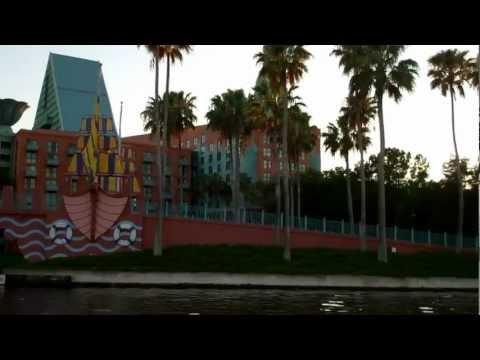 Walt Disney World Friendship Boat from Epcot to Disney's Hollywood Studios