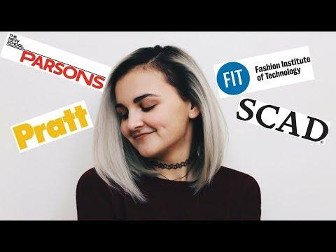 How I Got Into The Top Fashion Schools! | My Fashion Design Portfolio!