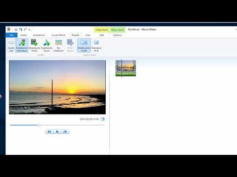 How to Remove Audio from Video in Windows Movie Maker (2 Ways)