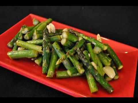 Garlic Asparagus Recipe, A Perfect Side Dish