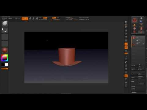 Making a Slash Hat with ZBrush Part 1
