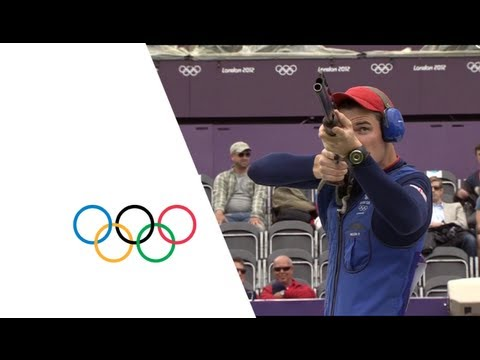 Peter Wilson Wins Men's Double Trap Shooting Gold - London 2012 Olympics