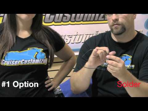 Motorcycle Handlebars - How to Install, Internal Wiring - Video Guide: Tip of the Week