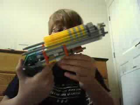 How to make a knex gun that shoots!(part 2)