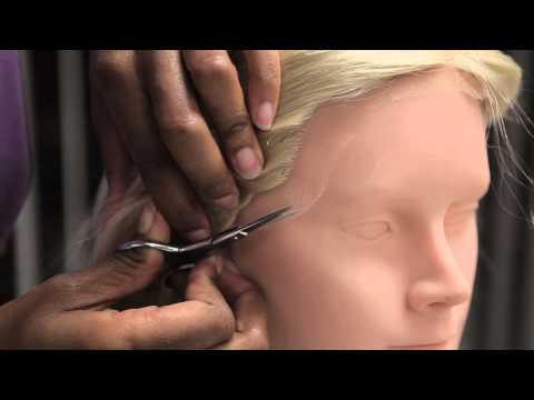 How to Cut a Lace Wig to Fit Your Hairline : Professional Hair Care Advice