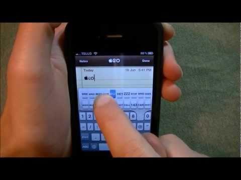 How to Use Rare Icons and Symbols on iOS X (iPhone, iPod and iPad) (Vmoji 4)