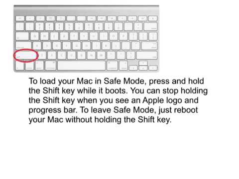How To Boot Into Safe Mode On Mac OSX