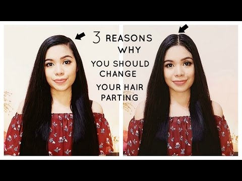 3 Reasons Why You Should Change Your Hair Parting From Time To Time-Beautyklove