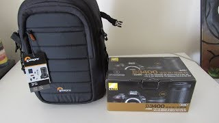 Nikon D3400 Unboxing, 18-55 VR and 70 - 300 lens