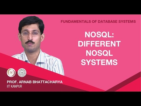 NoSQL: Different NoSQL Systems