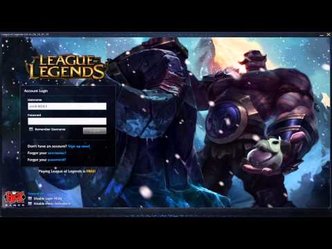 Braum - Custom Login Screen League of Legends