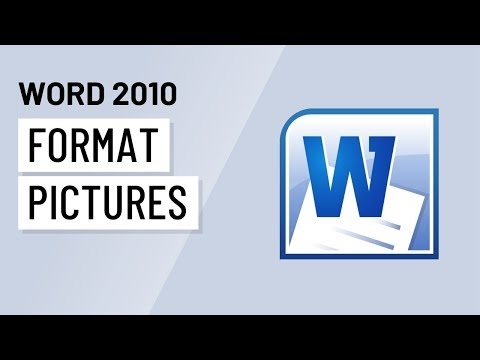 Word 2010: Formatting Pictures