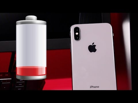 iPhone X / iPhone 10 - Does Battery Life Suck?! & Sylvania Smart+ Review