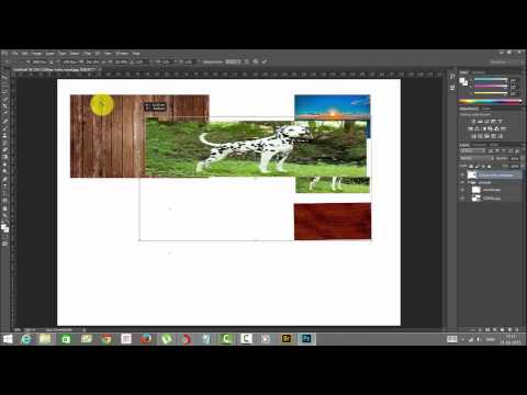 Photoshop Essentials - Rasterize, Merging the layers, Flatten image and saving compositions as jpeg