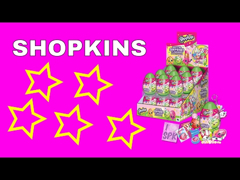 SHOPKINS SURPRISE EGGS {SEASON 7}