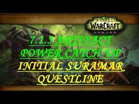 7.1.5 ARTIFACT POWER CATCH UP/INITIAL SURAMAR QUESTLINE