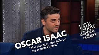 oscar isaac worked closely with carrie fisher in the upcoming star wars