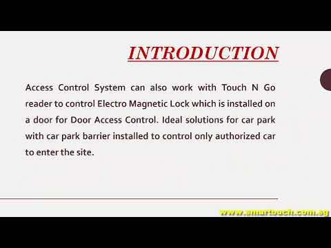 Access Control System : Falco Web Introduction (Mifare, RFID, Touch and Go, Biometric Devices)