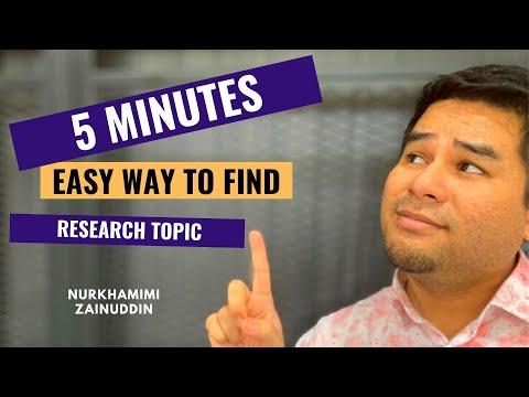 Ez Research Topic