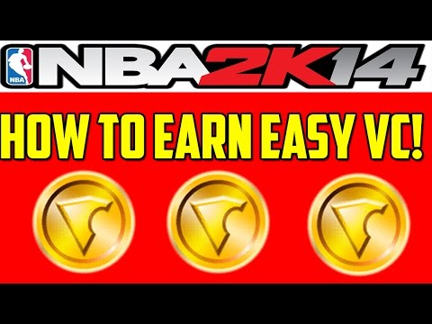 How To Earn VC Quick And Easily on NBA 2K14! 3000+ VC in Mins!