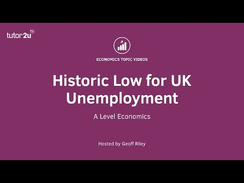 UK Unemployment Falls to 42 Year Low