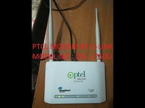 PTCL MODEM DSL 2750 U CONVERT MODEM TO ROUTER SETTING