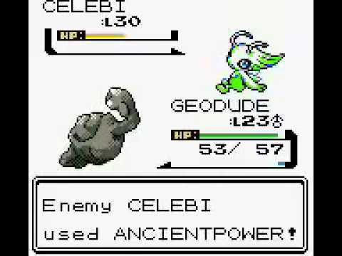 Pokemon Crystal (Game Boy Color) - Catching Celebi