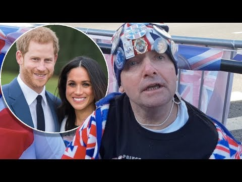 Meet the royal superfans sleeping on the streets to see Harry and Meghan on their wedding day