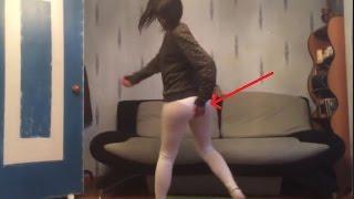 Skinny Girl Twerk Fail