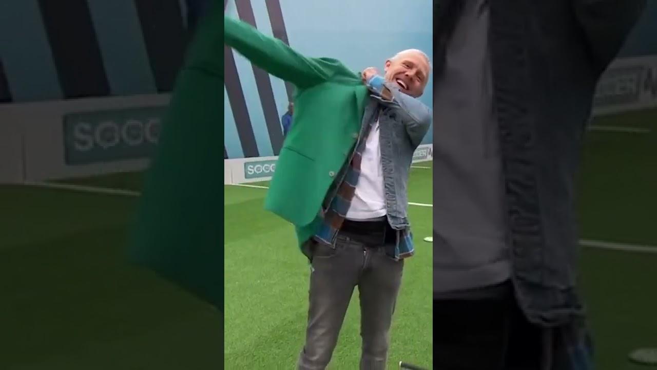 Bullard hits INSANE chip-in top bin! 🏌️ | #Shorts