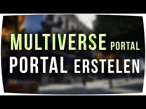 Multiverse Portals ► Portal erstellen - Minecraft 1.12 & 1.8 - Tutorial [German] (Bukkit/Spigot)