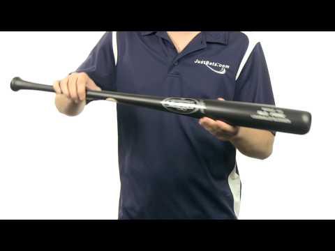 Louisville Slugger MLB Prime Maple Wood Bat Black Matte: WBVMI13-BM Adult