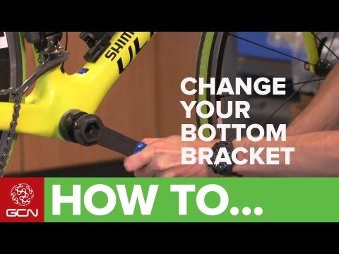 How To Change A Shimano Bottom Bracket