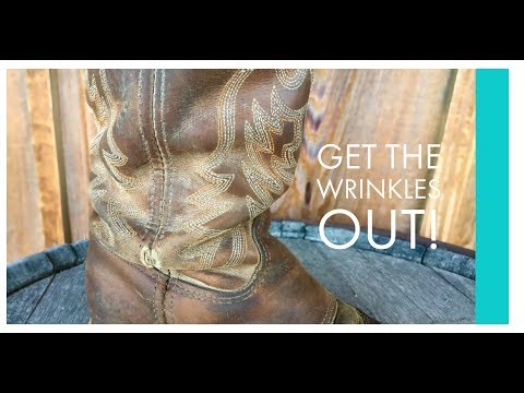 Learn How: To Get the Wrinkle out of Your Boot Ankle