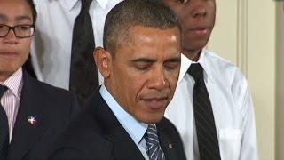 Obama: Dad was gone, I used to get high