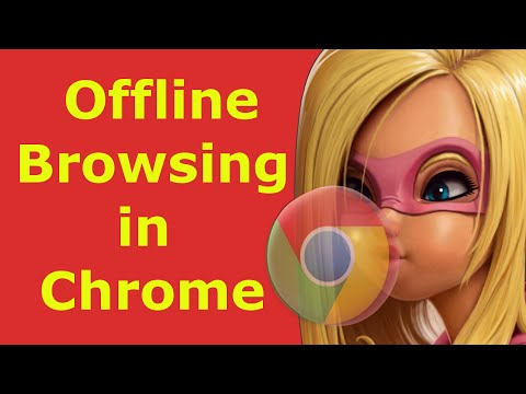 How to turn on offline browsing in Google Chrome - view web pages offline chrome