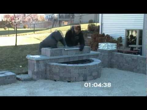 Grand Waterfall Outdoor Living Kit  (Time Lapse)