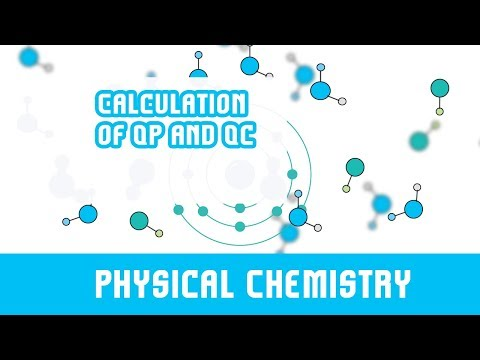 Chemical Equilibrium | 15 | Numerical Understanding Reaction Quotient | Calculation of Qp and Qc |