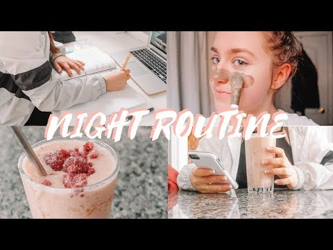 School Night Routine 2018