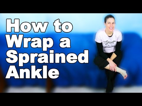 Wrapping a Sprained Ankle - Ask Doctor Jo