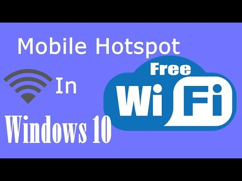 Share Your Internet In Windows 10 With Mobile Hotspot After Creators update | PCGUIDE4U