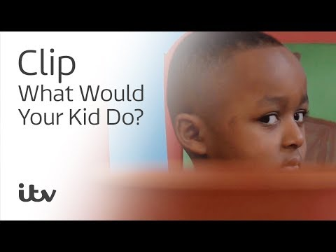 What Would Your Kid Do?   Would Your Kid Touch Wet Paint?   ITV