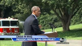 President Obama Redefines Iraq Military Missio