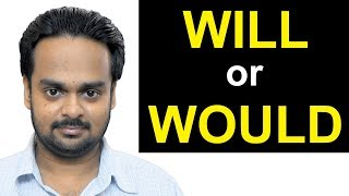 Correct Use of WILL and WOULD | What's the Difference? | Modal Verbs in English Grammar