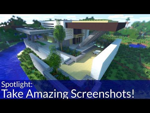 Take Amazing Minecraft Screenshots!