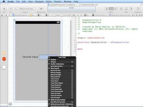 Xcode, IOS and Objective-C Basics with Demonstrations
