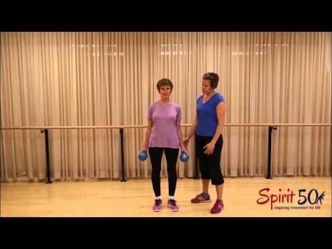 Easy arm strengthening exercise
