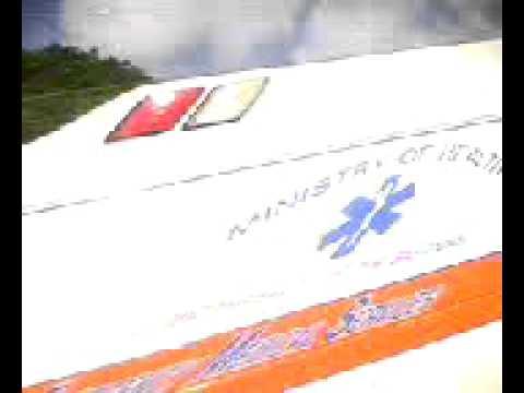 Nassau, Bahamas ambulance responding