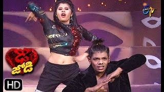 Ritik and Tanvi Performance | Dhee Jodi | 15th May 2019    | ETV Telugu